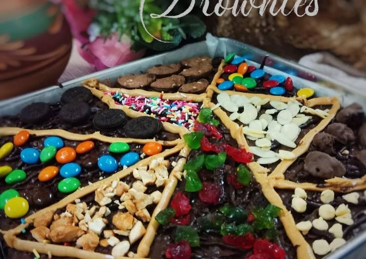 Terrazzo Brownies #SyedMunawwar