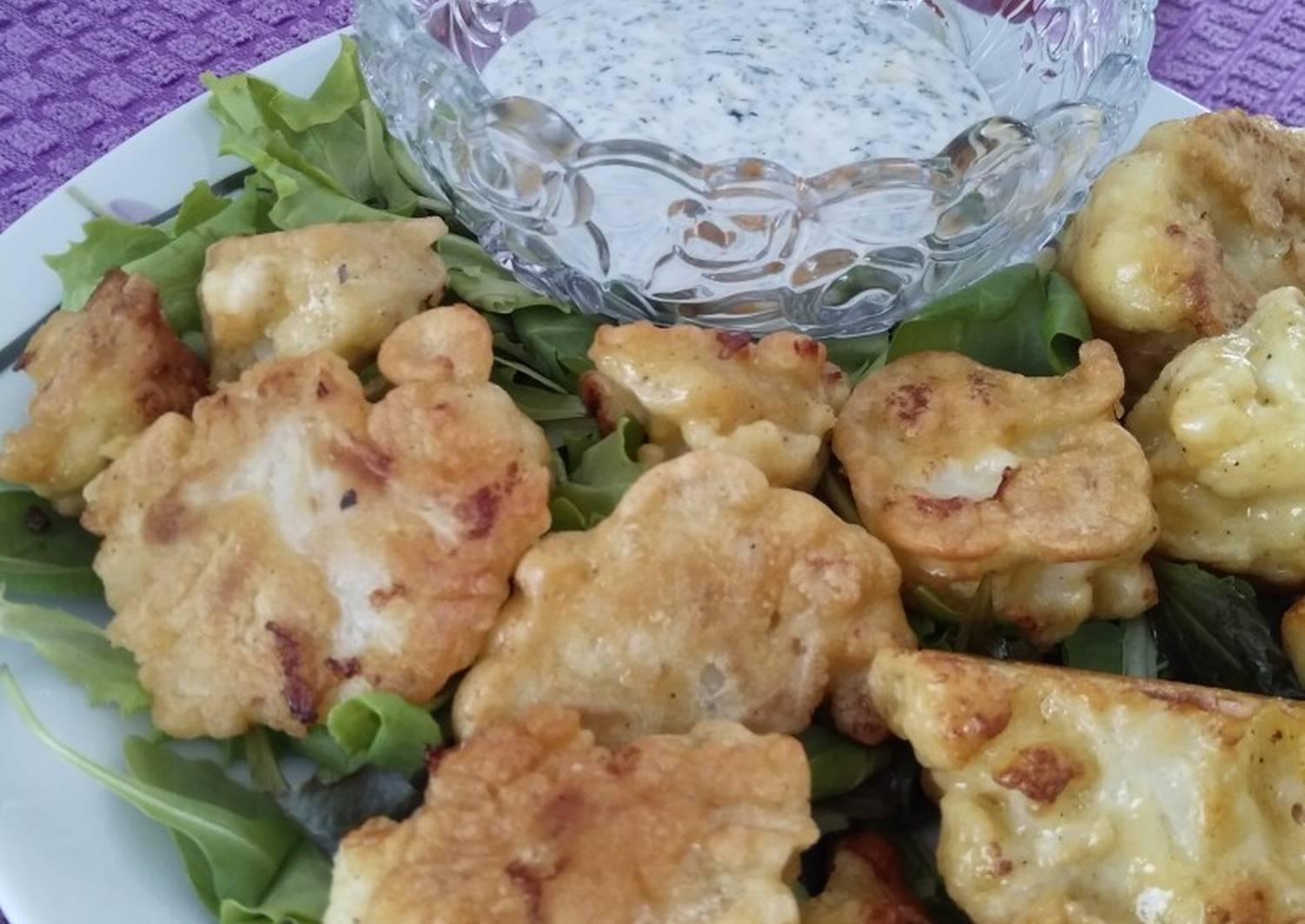 Капуста в кляре пошаговый рецепт с фото