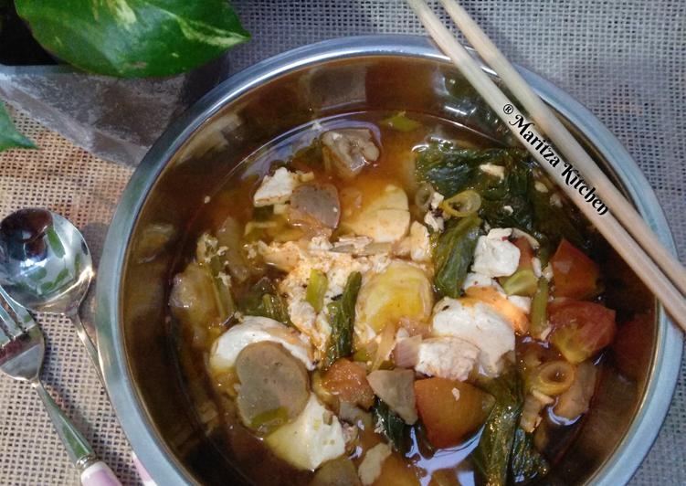 Sup Tahu Pedas (Sundubu Jjigae)