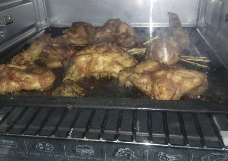 Ayam panggang oven pedas manis