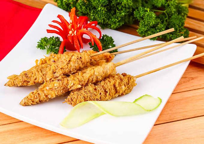 Recipe of Favorite Resep Sate Telur Gulung Pedas