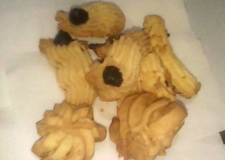 Cookies semprit maizena 3 bahan