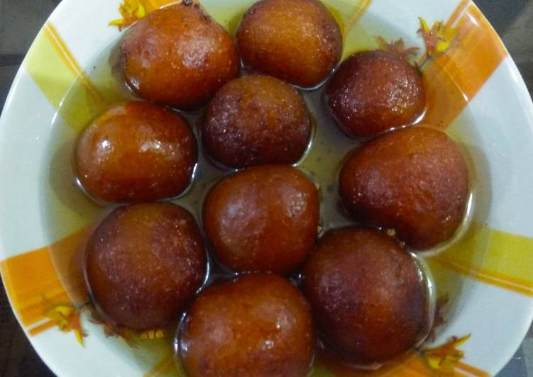 Recipe of Any-night-of-the-week Instant khova Gulab jamun