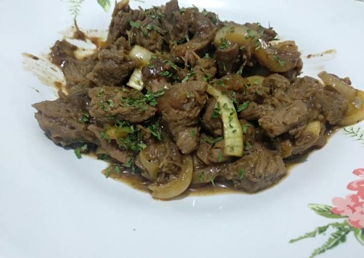 Resep Daging Sapi Teriyaki Ala Hokben Anti Gagal Kreasi Masakan