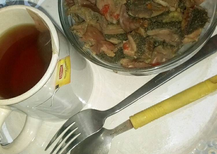 Steps to Make Perfect Offal's pepper soup