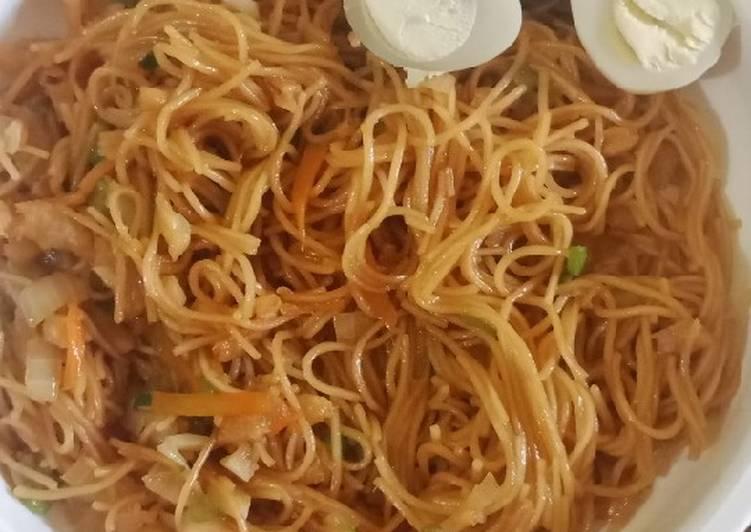 Resep Mie soa goreng untuk anak 2 tahun Bikin Laper