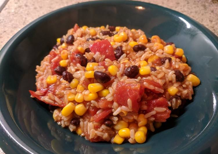 Vegan Pressure Cooker Beans & Rice