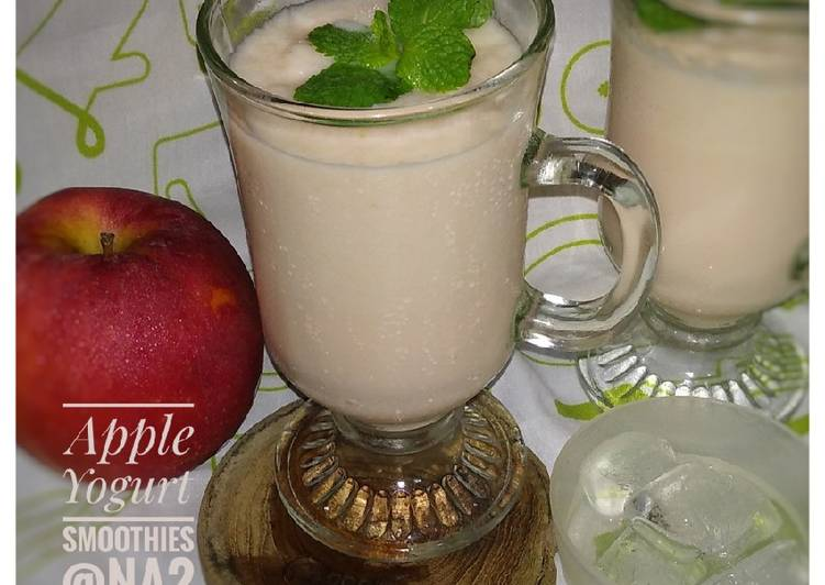 Apple Yogurt Smoothies