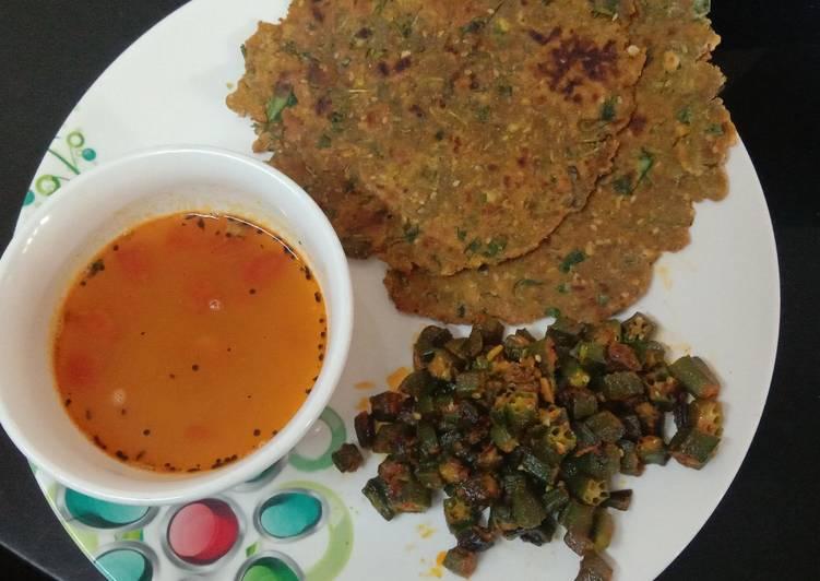Easiest Way to Prepare Favorite Bajari methi Thepla(Dhebara)