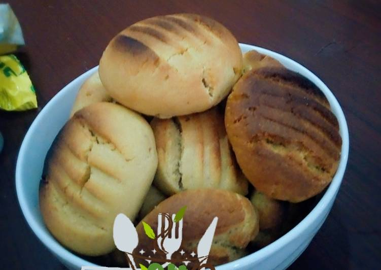 Recipe of Ultimate Crunchy ginger cookies