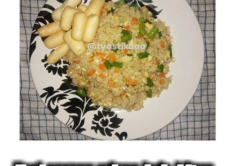 Nasi goreng udang lada hitam