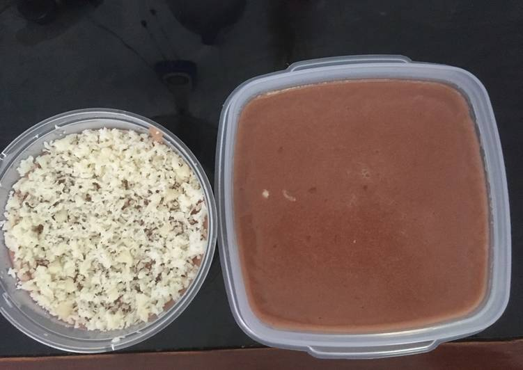resep cara bikin Sillky Pudding coklat magiccom