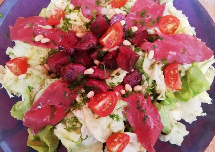 Comment faire Cuire Délicieux Salade de gésiers et magrets de canards fumés