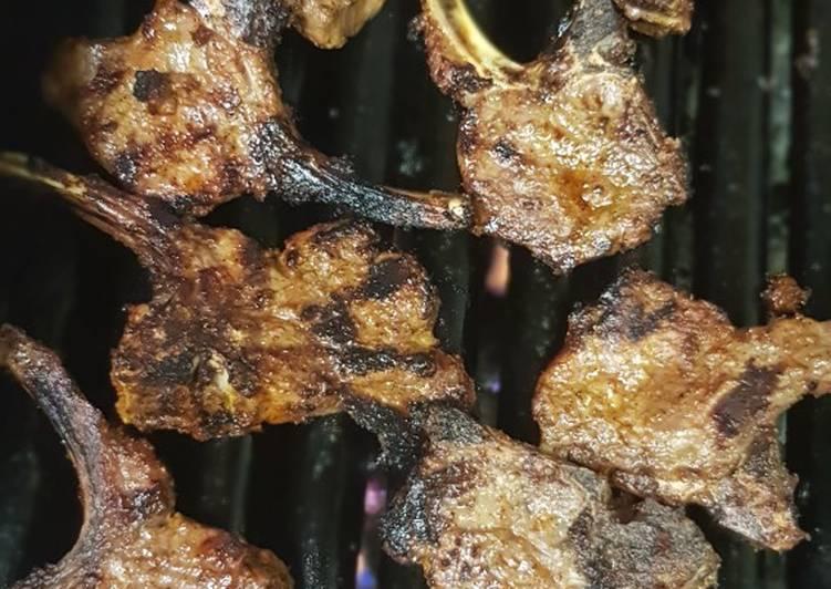 Recipe of Ultimate Lamb chops takeaway style
