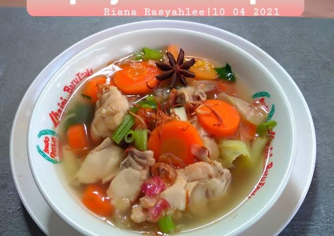 #Sup Ayam Berempah