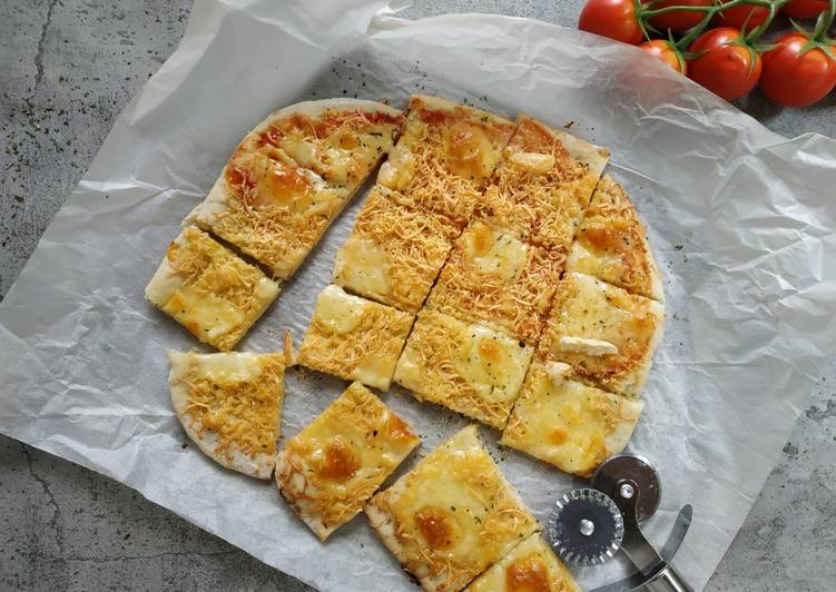 Thin Crust Pizza (versi oven tangkring)