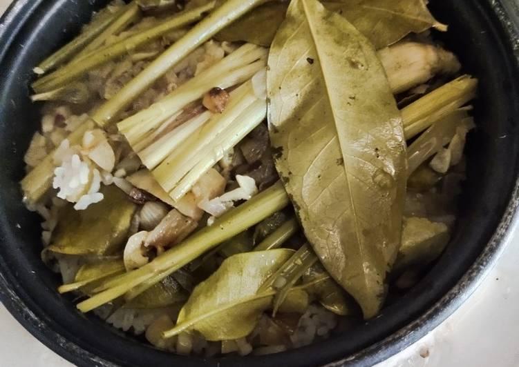 Nasi Liwet Sunda Rice Cooker