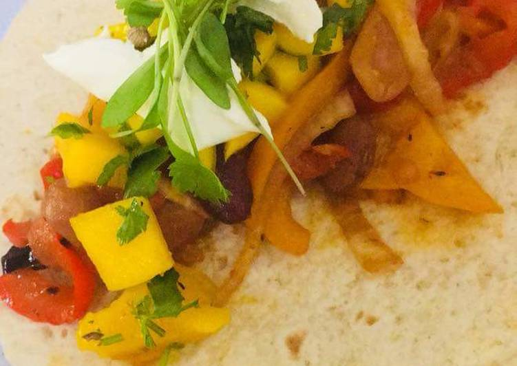 How to Prepare Homemade Beef and Veggies Tortilla