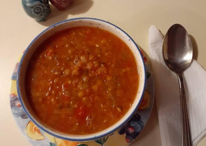 How To Make Lentil Soup In Instant Pot! Tasty