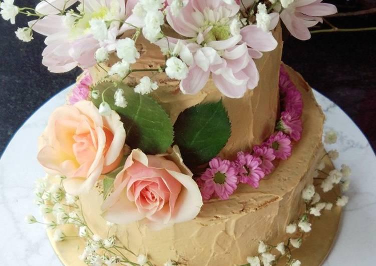 Resep Kue tart susun mini (mini tiered cake) Paling Mudah