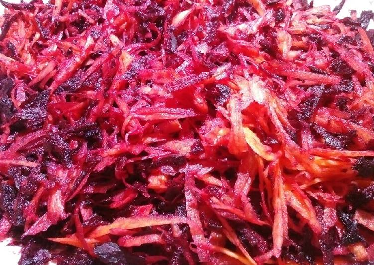 Discover How to Elevate Your Mood with Food Carrot and beetroot salad