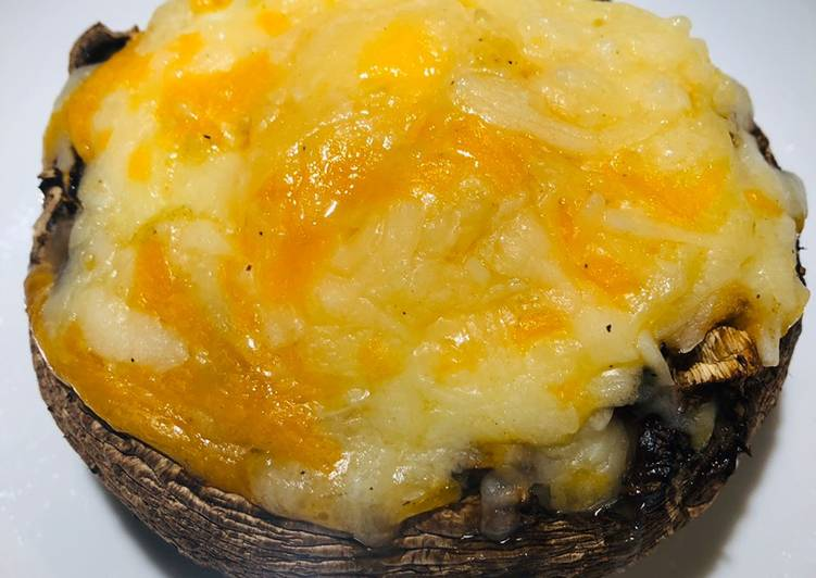Baked Portobello Mushrooms, Help Your Heart with Food