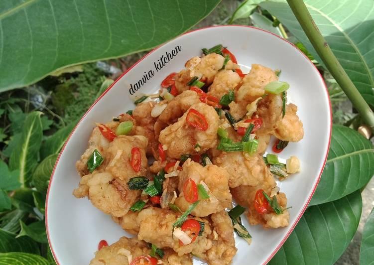 Resep Ayam Cabe Garam Yang Simple Sedap