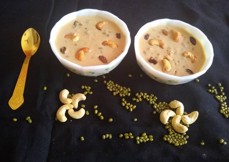 30 Minute Step-by-Step Guide to Prepare Any Night Of The Week Whole moong dal kheer