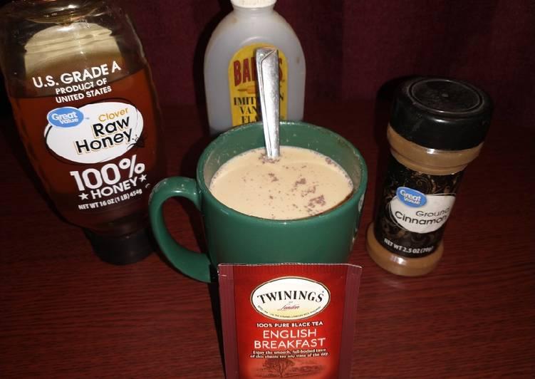 Microwavable Milk Tea Drink