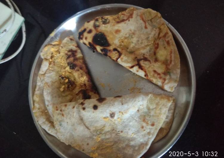 Steps to Prepare Favorite Batata paratha potatoes paratha