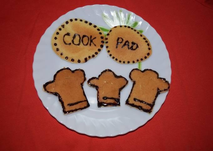 Cookpad Logo Pancakes