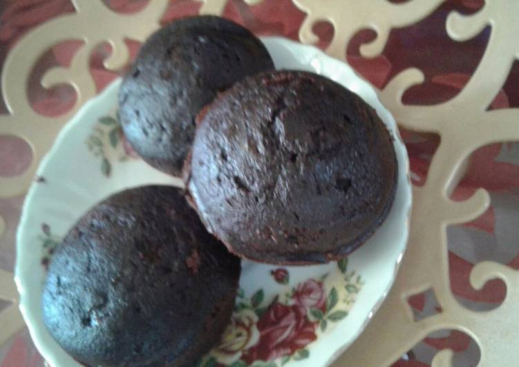 Steps to Make Favorite Chocolate muffins