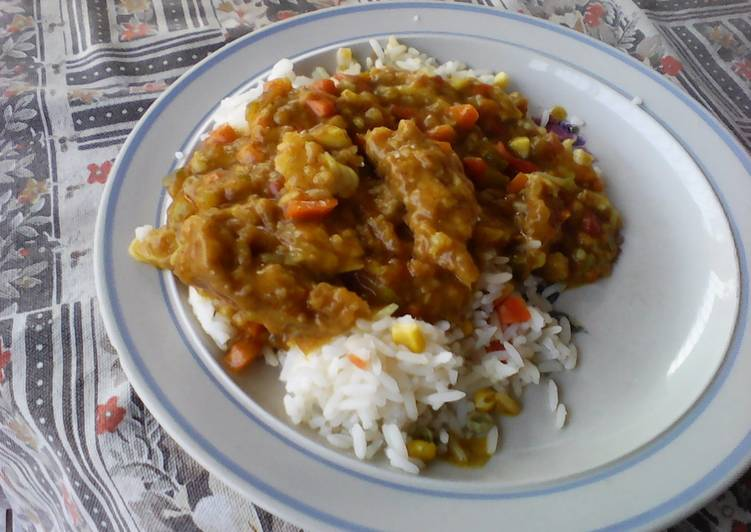 Recipe of Perfect Fish curry with vegetables