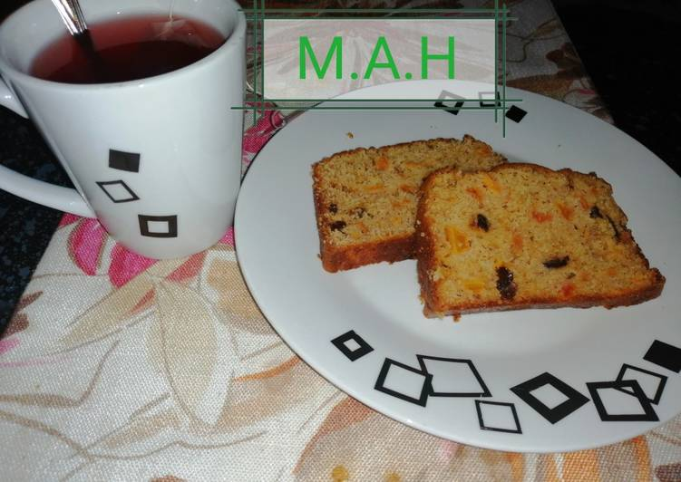 Papaya bread (or pawpaw cake)