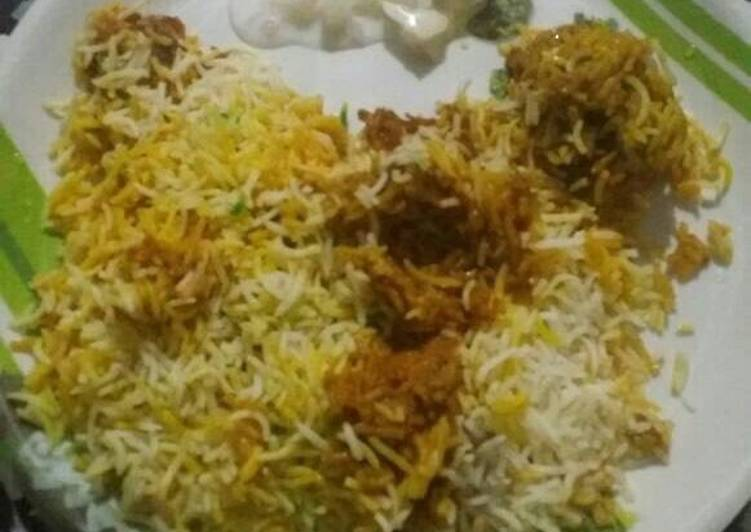 Recipe: Appetizing Chicken biryani