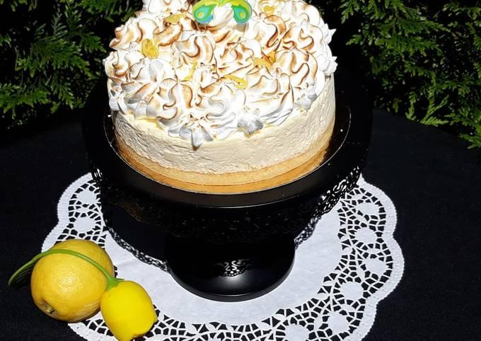 Gâteau nuage citron
