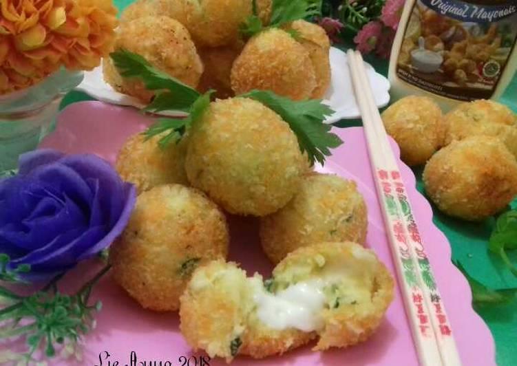 Resep Potato Cheese Ball Bola Kentang Keju Oleh Lie Anna Cookpad