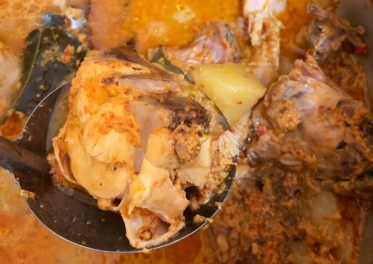Langkah Mudah untuk Membuat Kare ayam praktis pakai presto, Sempurna