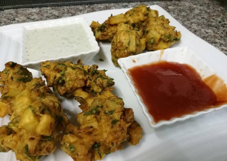 Vegetables fritters