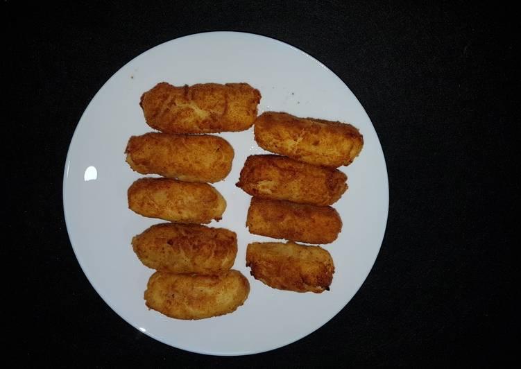 receta croquetas de patata y queso