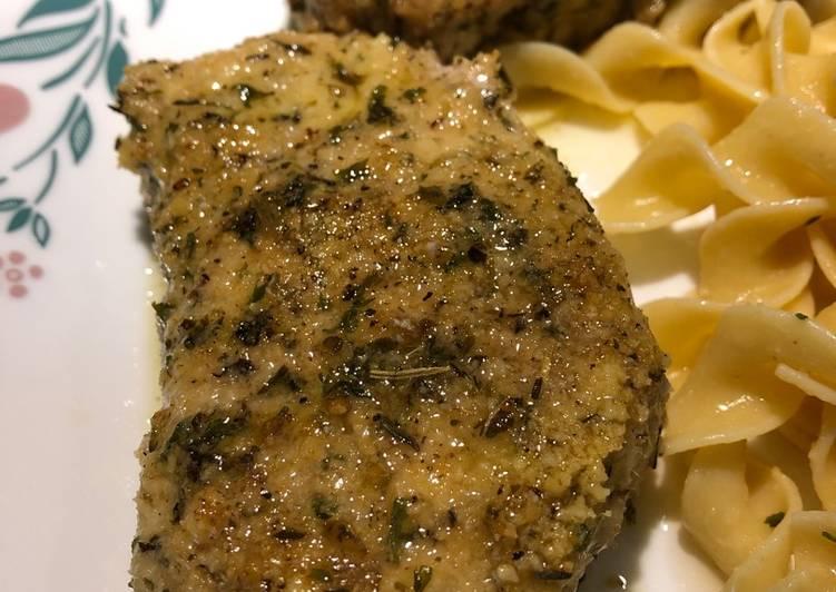 Recipe of Favorite Baked Parmesan Pork Chops