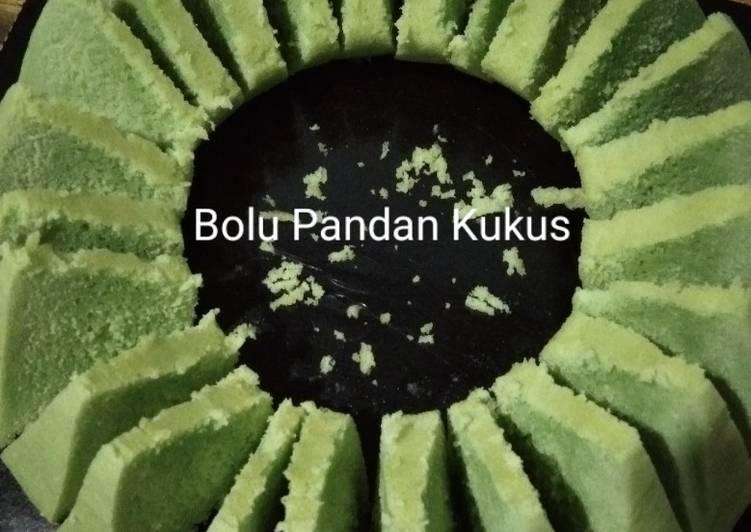 Bolu Pandan Kukus