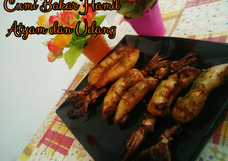 Cumi Bakar Hamil Ayam & Udang #ketofriendly #ketofy #debm