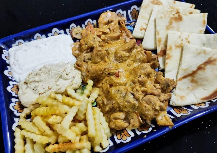 Mushroom Chicken platter