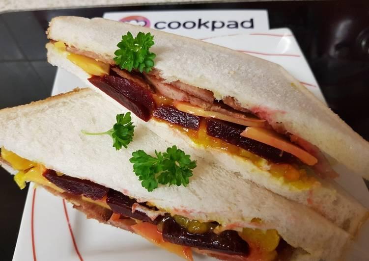 My Bacon Grill so Tasty Sandwich ????