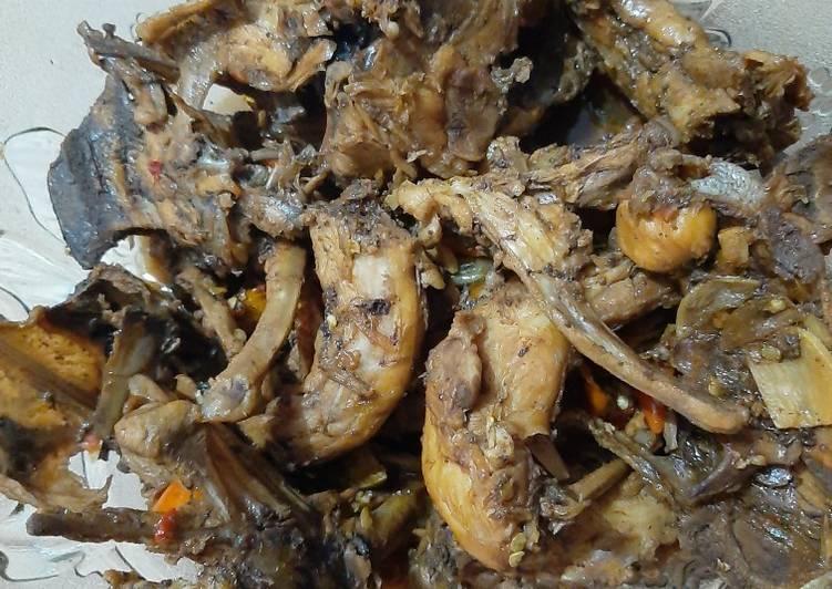 Resep Tetelan Ayam Masak Kecap Pedas Oleh Mama Al Cookpad