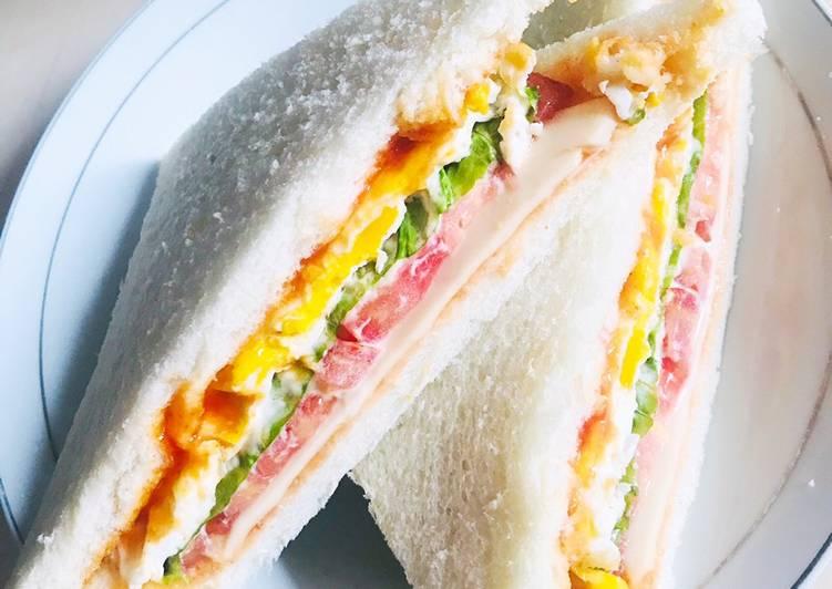 Resep Sandwich rumahan ala saya Paling dicari