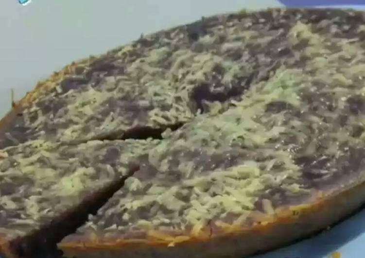 Bolu keju ubi ungu kukus