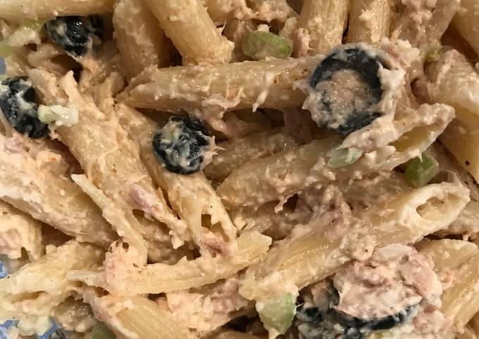 Savory Tuna Pasta Salad
