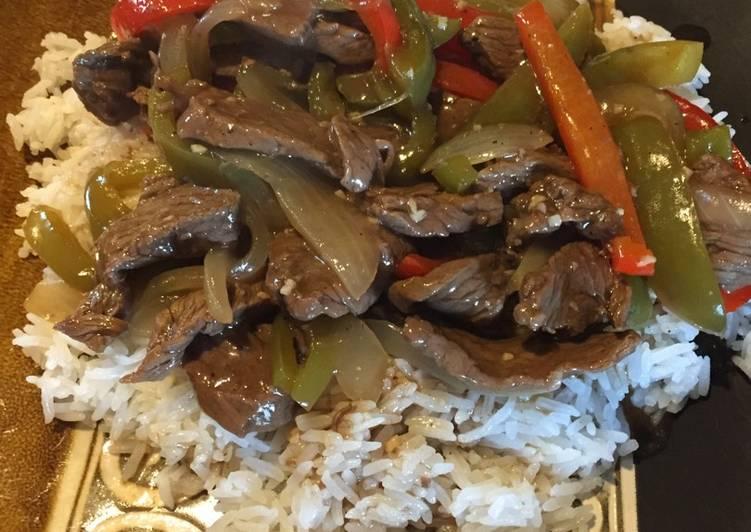 Easiest Way to Prepare Award-winning Bell Pepper Steak